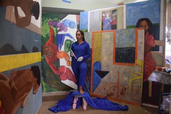 Artist Work Mequitta Ahuja Wins Guggenheim