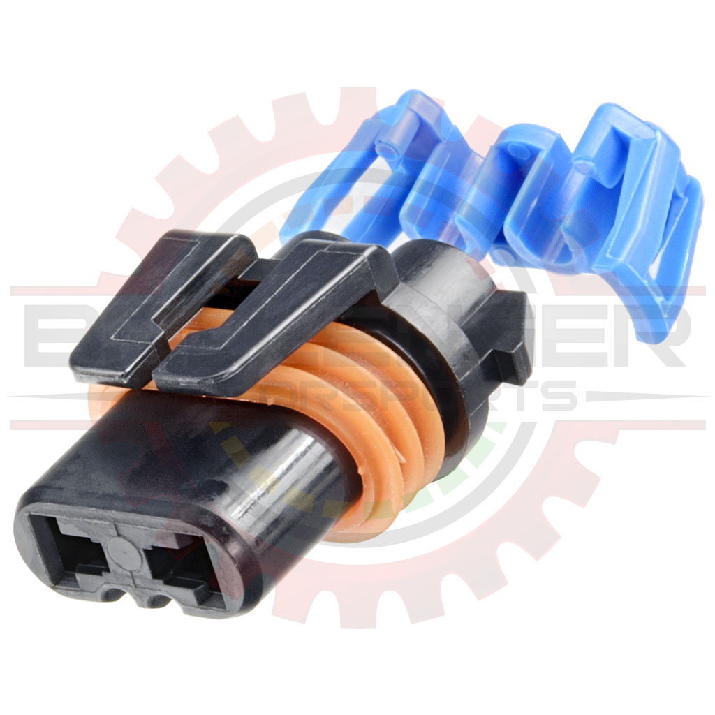 hight resolution of gm delphi packard 2 way metripack 280 connector plug assembly for hb3 9005