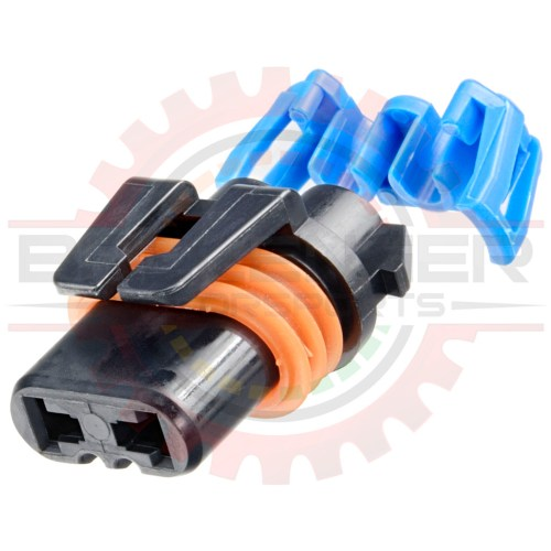 small resolution of gm delphi packard 2 way metripack 280 connector plug assembly for hb3 9005