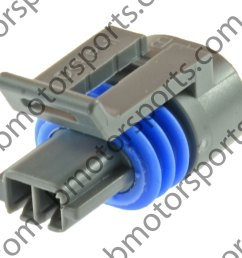 gm delphi packard 2 way iat mat act sensor connector connector only [ 1092 x 1092 Pixel ]