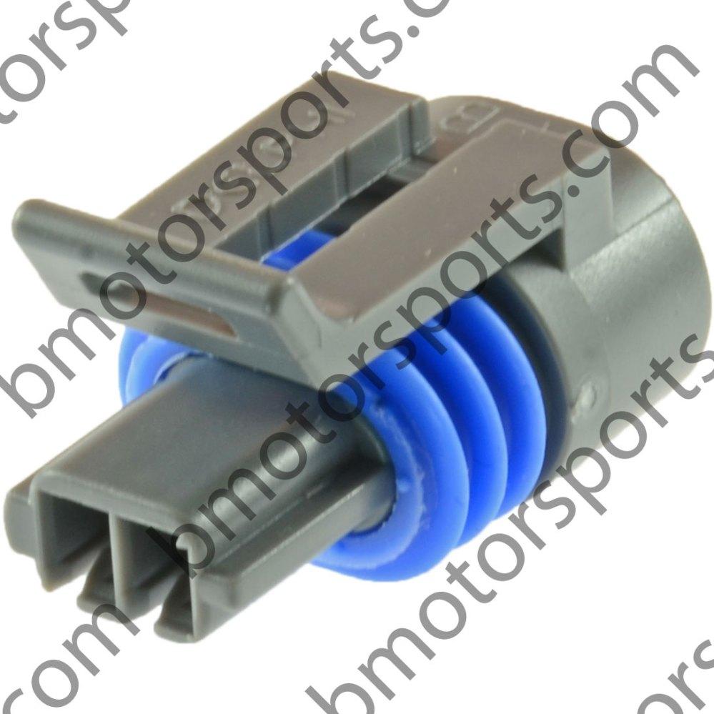 medium resolution of gm delphi packard 2 way iat mat act sensor connector connector only