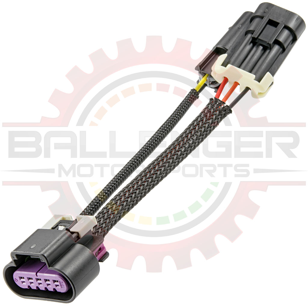 hight resolution of gm delphi packard ls7 ls3 maf to 3 wire maf with iat