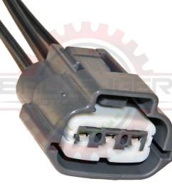 3 way plug connector pigtail for nissan and mazda coils [ 1024 x 1024 Pixel ]