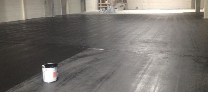 Peinture pour sols industriels en bton  BMS Sols