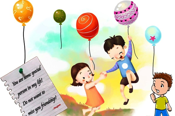 Top 3 Beautiful Awesome Happy Friendship Day 2014 Malayalam Sms