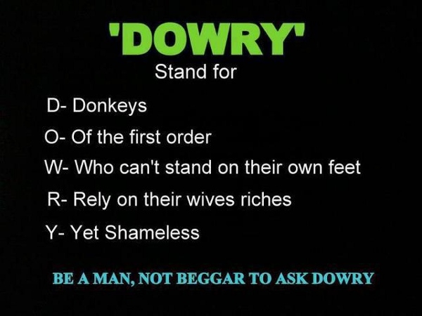 Free essay on dowry system