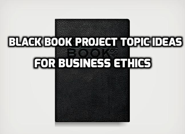 business ethics topics