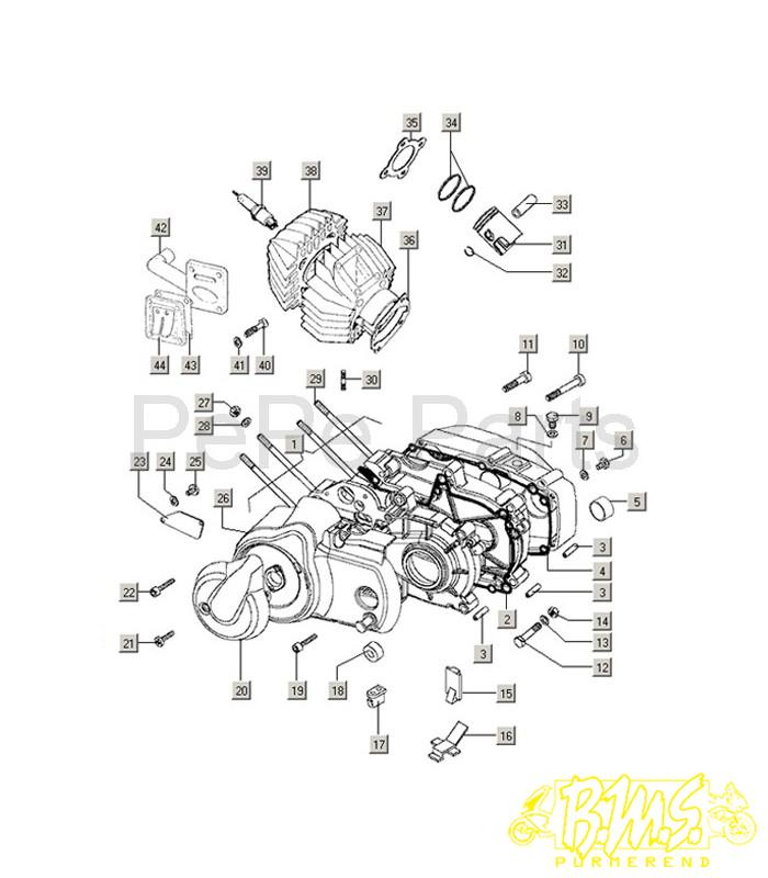 Motorblok Tomos Flexer XL