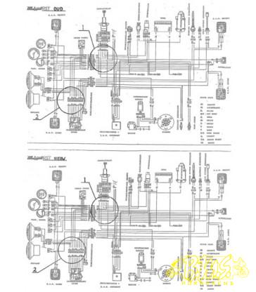 Scooter Cdi Wiring Diagram. Scooter. Wiring Diagram