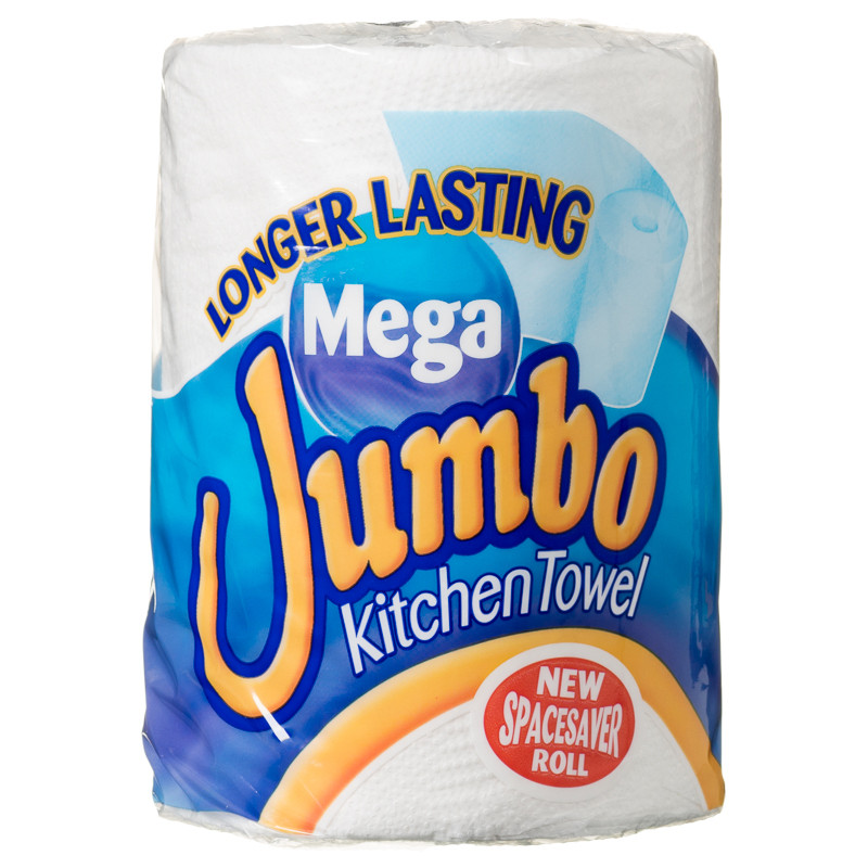Jumbo Kitchen Roll  Household Cleaning Essentials