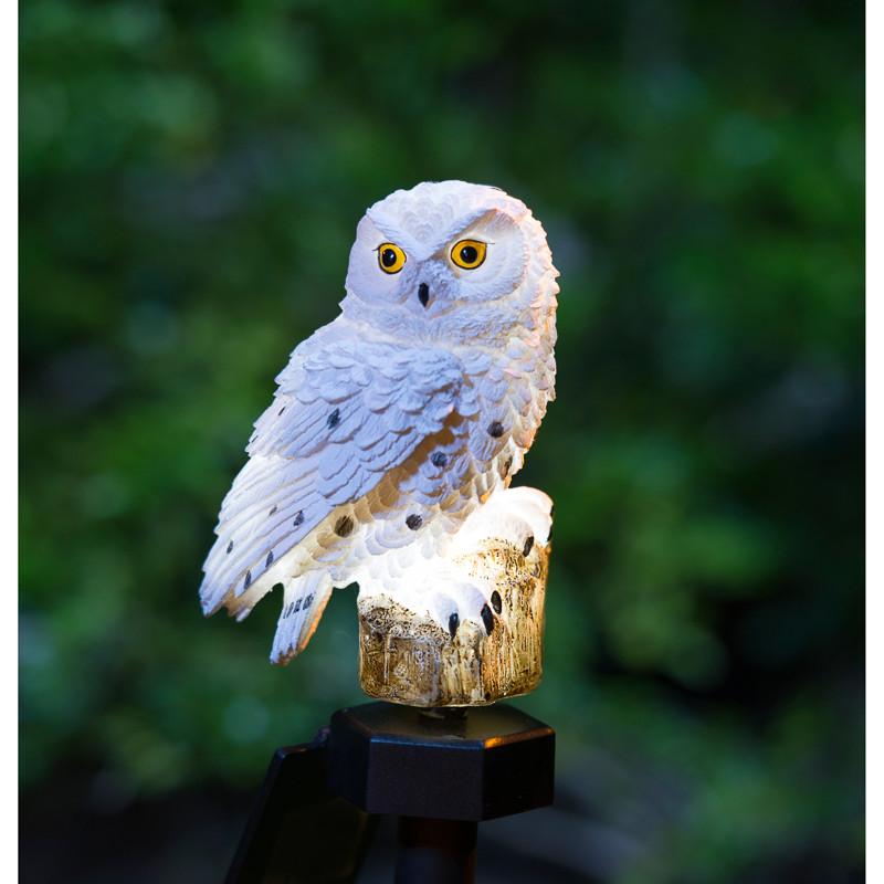BM  Snowy Owl Solar Stake Light  2868862