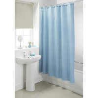 B&M Plain Shower Curtain 180 x 180cm - 302725 | B&M