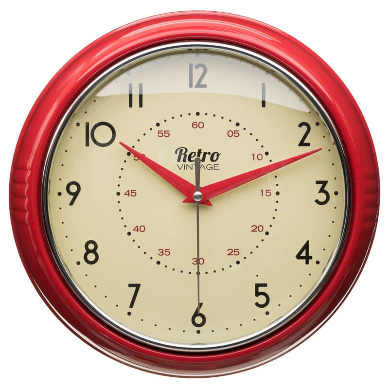 Retro Clock  Home Accessories Clocks