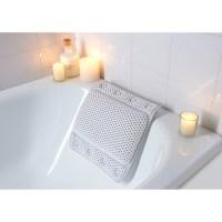 Non-Slip Cushioned Bath Pillow - 302603 | B&M