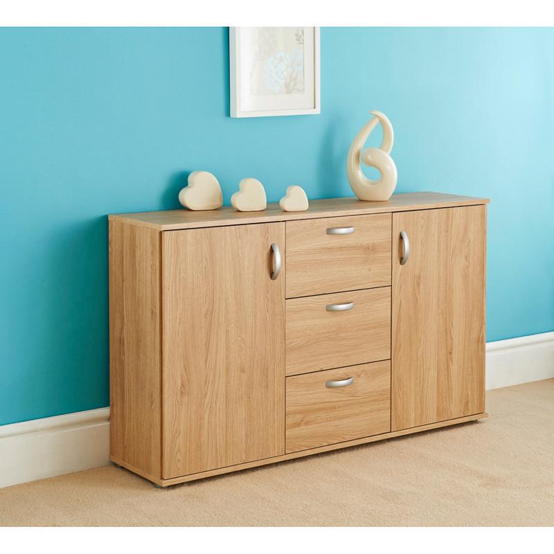2 Drawer Oak File Cabinet