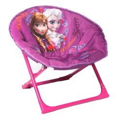 Small Fold Up Chair Hydro Massage Disney Frozen Kids Moon | Furniture