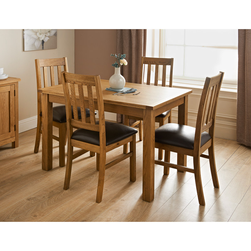 Hampshire Oak Dining Set 7pc Dining Furniture BampM