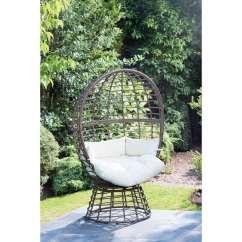 Swivel Chair Cushions Electric Bath Lift B&m: Roma Egg | Garden Furniture