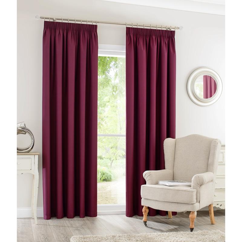 Silent Night Blackout Curtains 90 X 90 Home BampM