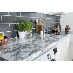 Kitchen Bulbs French Table D-c-fix Self-adhesive Film 90cm X 2.1m - Marble White ...