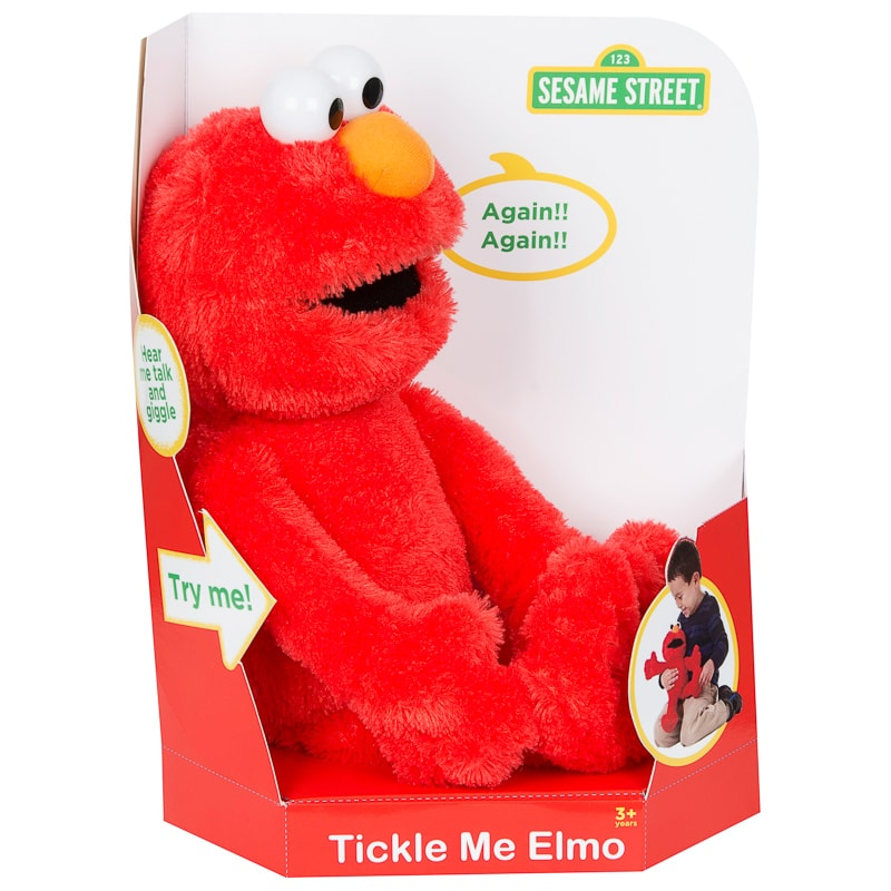 Tickle Me Elmo Talking Cuddly Toy Plush Toys B&M