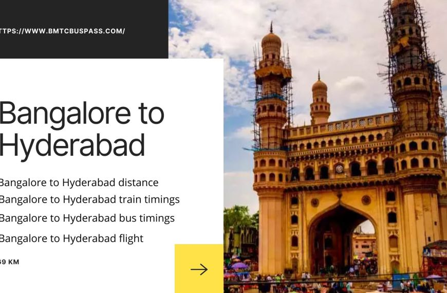 Bmtc Bangalore to Hyderabad distance | Bus | train | flight timings