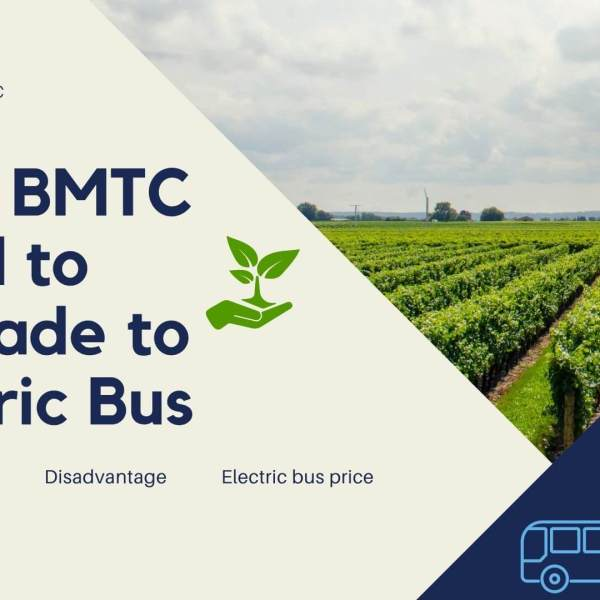 Does BMTC need to upgrade their bus services to electric buses?