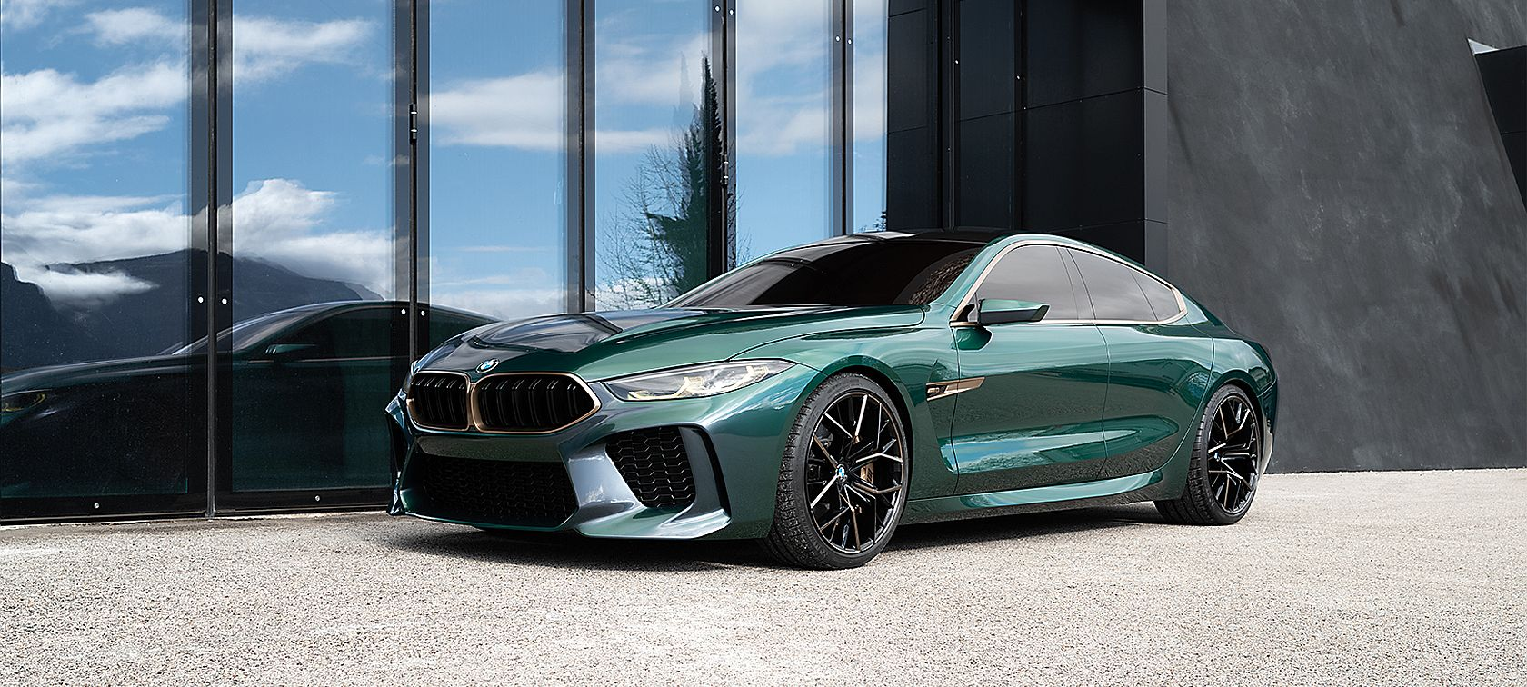 hight resolution of bmw concept m8 gran coup