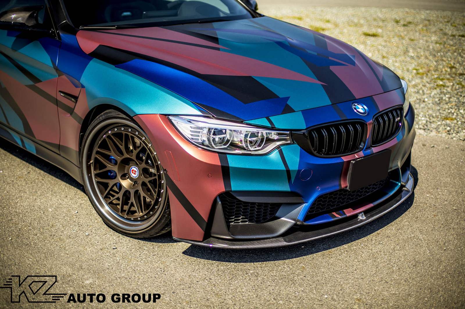 Funky Wrap For The Bmw M4 Bmw Sg Bmw Singapore Owners