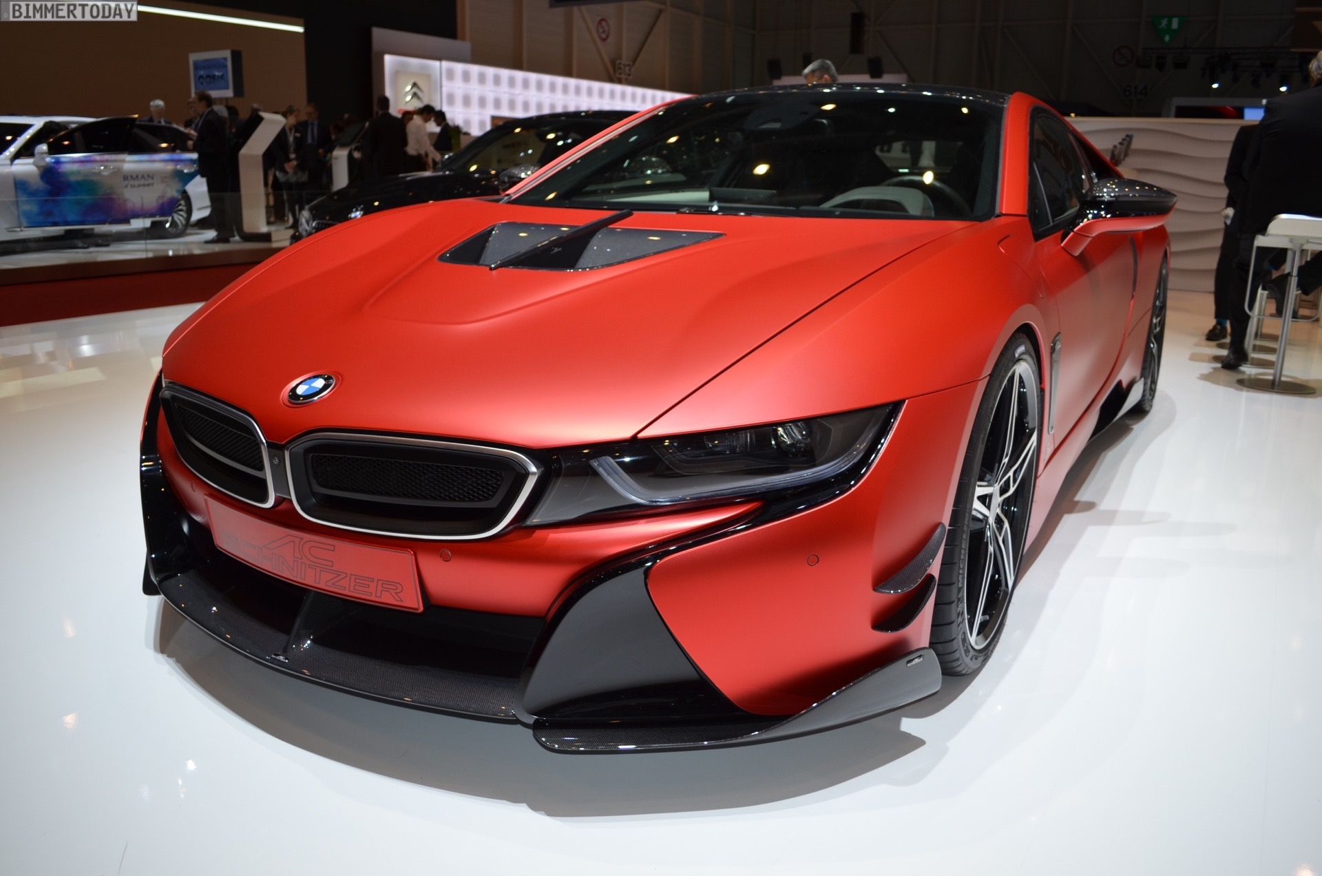Photos Ac Schnitzer S Inferno Red Bmw I8 Bmw Sg Bmw Singapore Owners Community