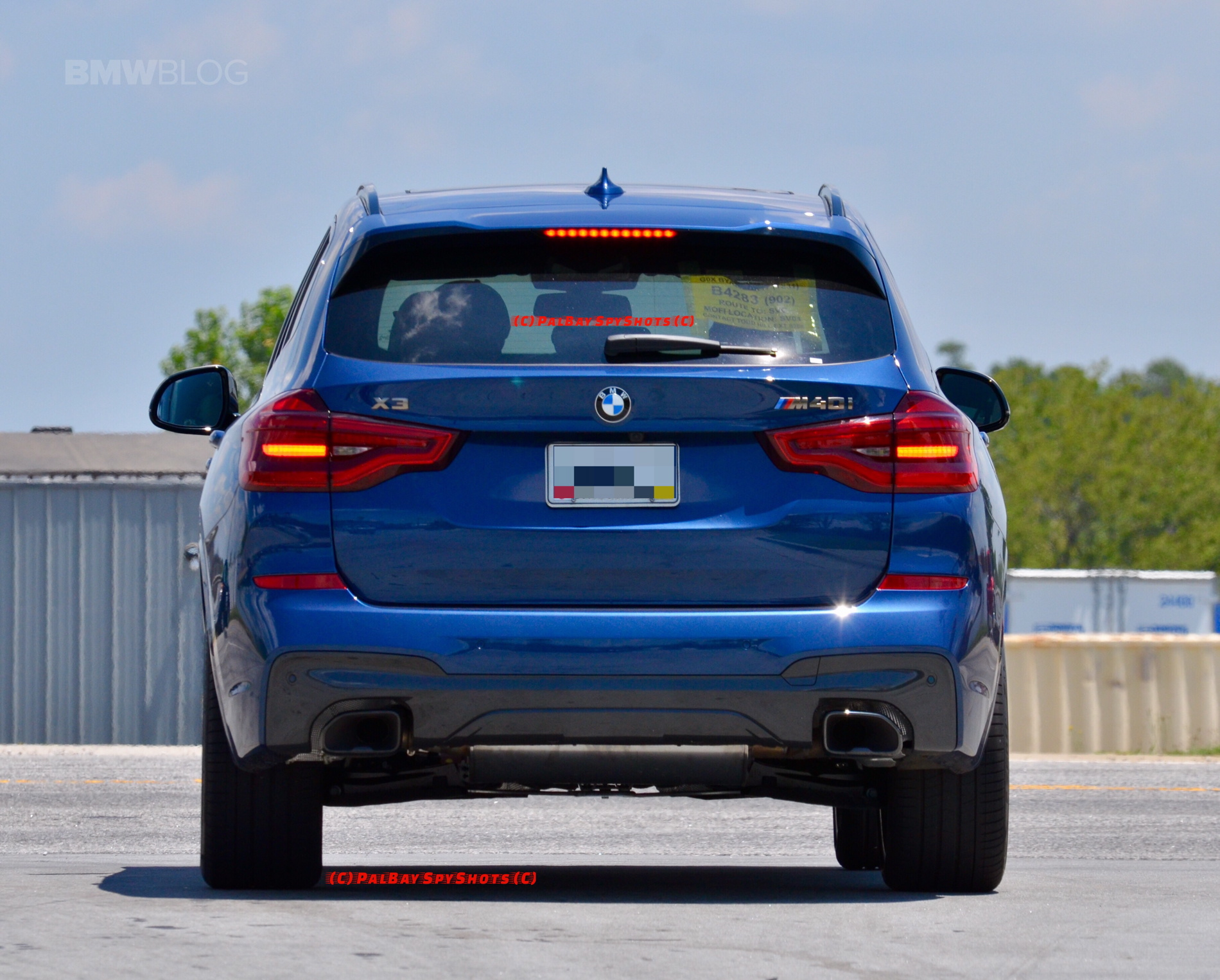 photos bmw x3 m40i first seen on the road bmw sg. Black Bedroom Furniture Sets. Home Design Ideas