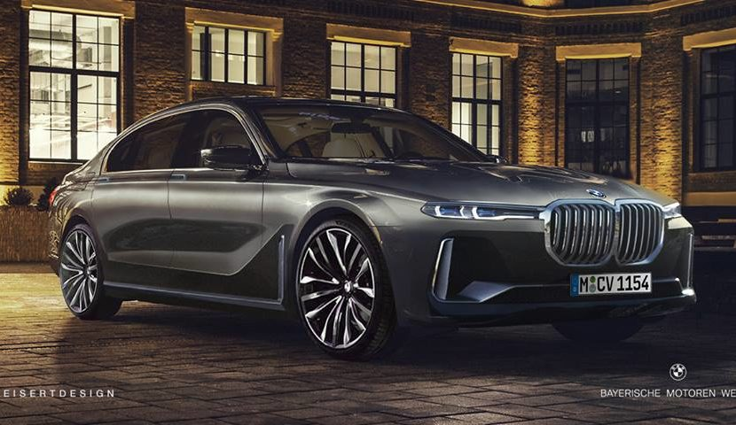 Rendering Facelift Bmw 7 Series Based On X7 Bmw Sg