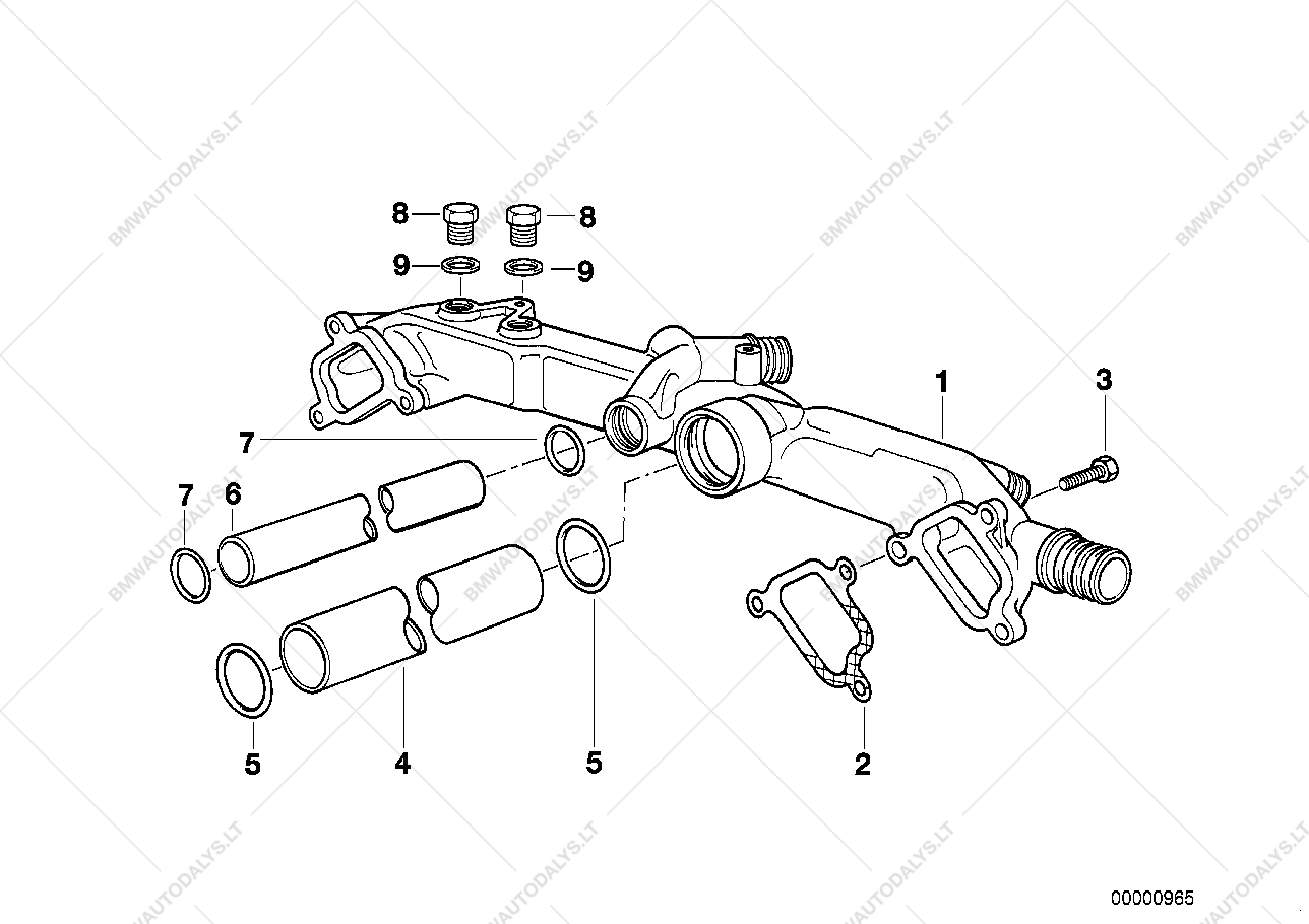 hight resolution of parts list is for bmw x5 e53 x5 4 4i m62 sav usa