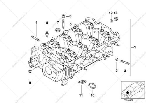 small resolution of parts list is for bmw 3 e36 318i m44 convertible usa