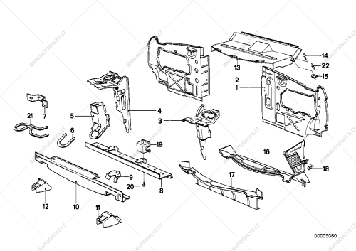 small resolution of parts list is for bmw 5 e28 518 sedan ece