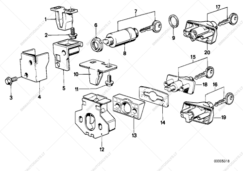 small resolution of parts list is for bmw 6 e24 635csi coupe ece 1989 01