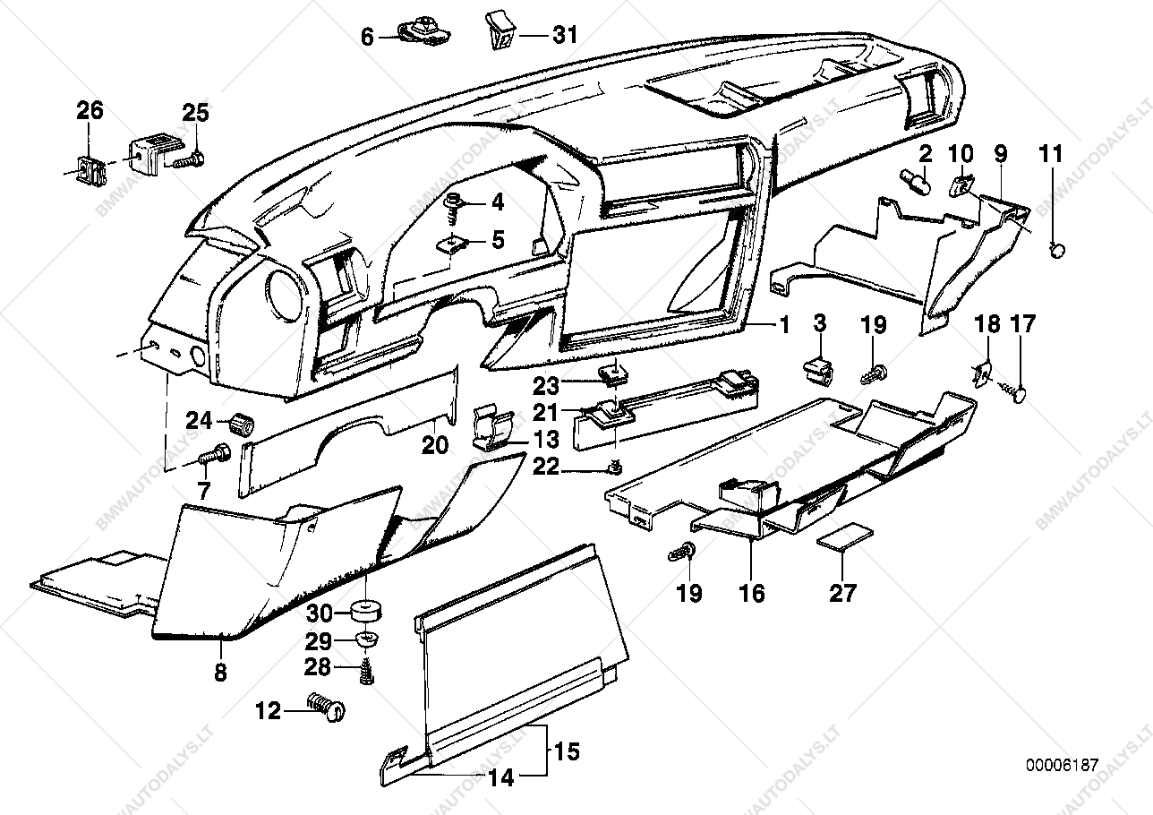 hight resolution of bmw e30 dashboard parts diagram wiring database library bmw 323i parts diagram bmw e30 parts diagram