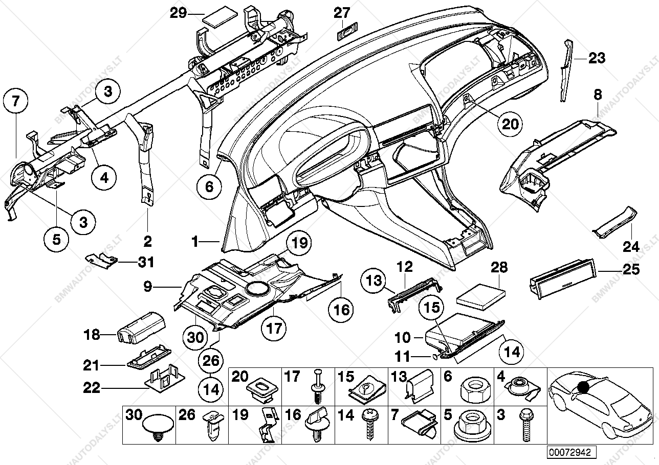 complete parts diagram e46 what is net architecture with trim panel dashboard for bmw 3 39 320d m47 sedan ece