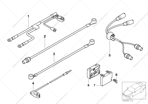 small resolution of parts list is for bmw 7 e38 750il m73n sedan usa