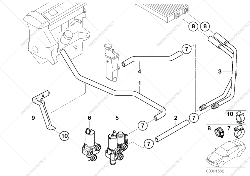 small resolution of parts list is for bmw 3 e46 318i n42 sedan rus