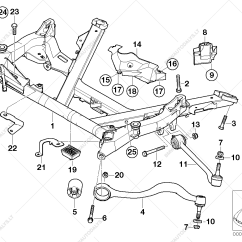 Bmw E39 Suspension Diagram Farmall H Parts Front Axle Support Wishbone For 5 39 530d Sedan