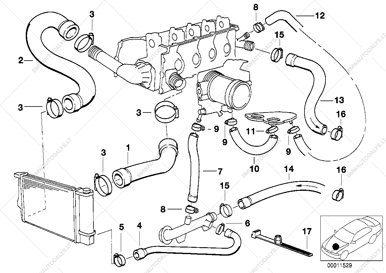 bmw z4 engine cooling system diagram bmw wire diagram wiring  medium resolution of group engine subgroup cooling system water hoses 11 1394 parts list parts list