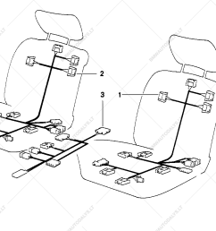 wiring electr seat adjustment front for bmw 3 e36 316i 1 6 compact ece function getimagesize [ 1288 x 910 Pixel ]