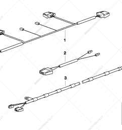 wiring harnesses folding top and hardtop for bmw 3 e36 328i convertible usa  [ 1288 x 910 Pixel ]