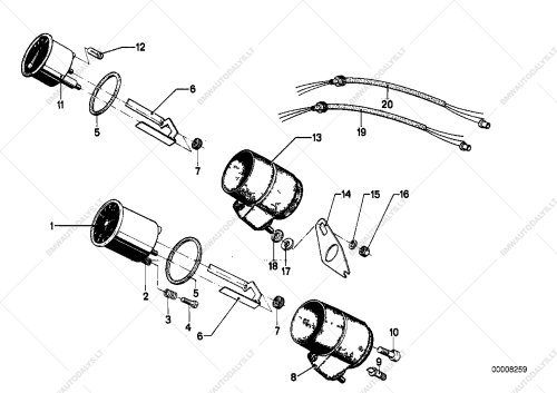 small resolution of parts list is for bmw r50 5 r90s 69 76 r90 6 usa
