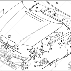 Bmw E46 Engine Diagram How To Wire Up A Light Switch Hood Mounting Parts Automobiliui 3 39 316ci