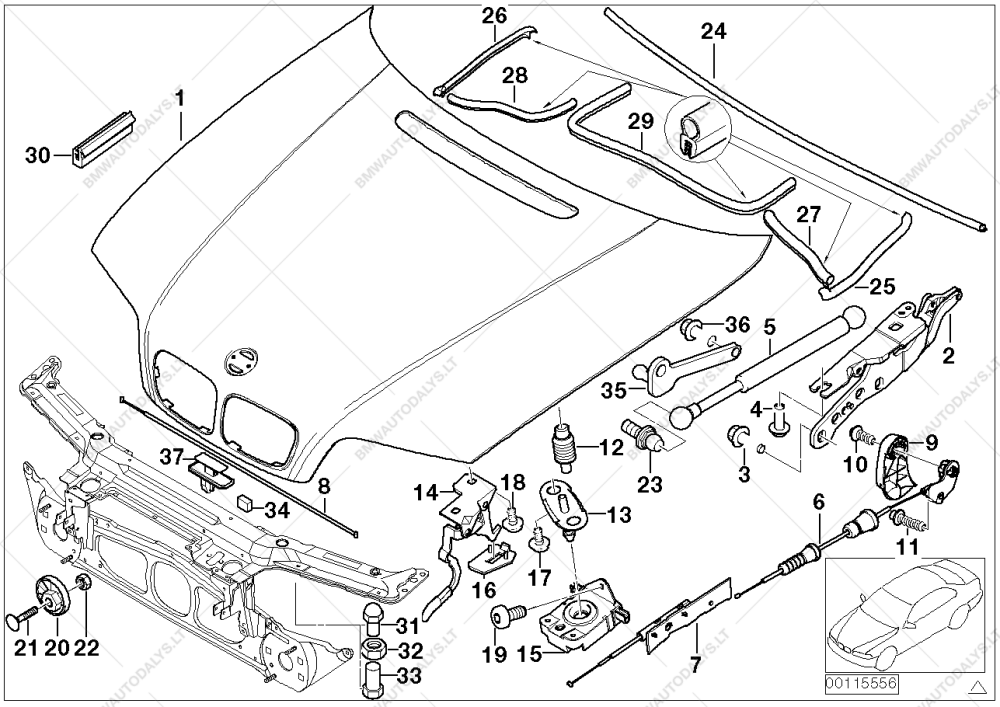 medium resolution of parts list is for bmw 3 e46 330d m57 touring ece