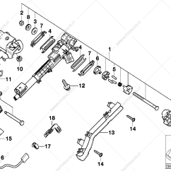 Complete Parts Diagram E46 Ford Focus 2002 Stereo Wiring Steering Column Adjustable Single For Bmw 3 328ci Coupe List Is Usa