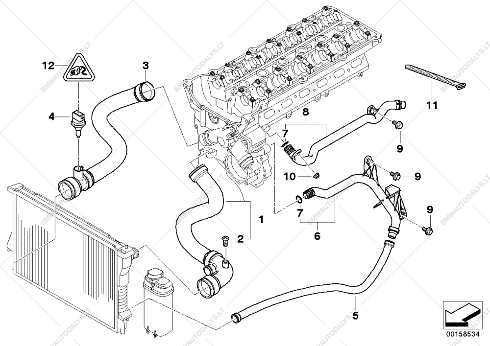 medium resolution of e46 cooling system diagram wiring diagram blog 2003 bmw e46 cooling system diagram cooling system water