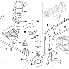 Bmw E36 Vacuum Hose Diagram Hager Rcbo Wiring Air Pump F Control For 3 39 E46 318i M43 Touring